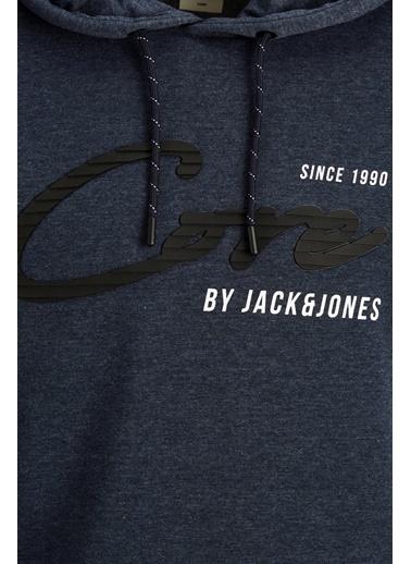 Jack & Jones JCOSTONE SWEAT HOOD 12175246Port RoyXXL              Lacivert